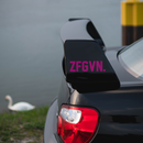 ZFGVN. Sticker statement