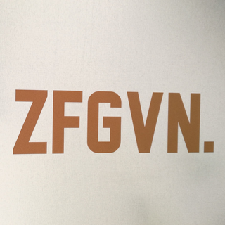 ZFGVN. Sticker statement - oil slick