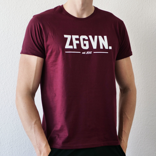 ZFGVN. T-Shirt - wine XL